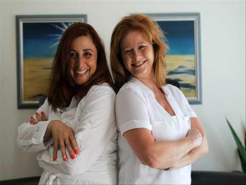 Angela and Cindy