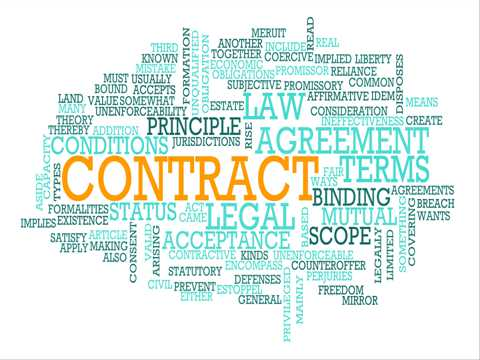 Contracts can be complicated