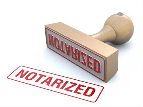 Notarization Services